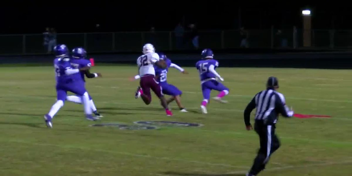 WATCH: Lovelady running back eludes several tackles on touchdown run