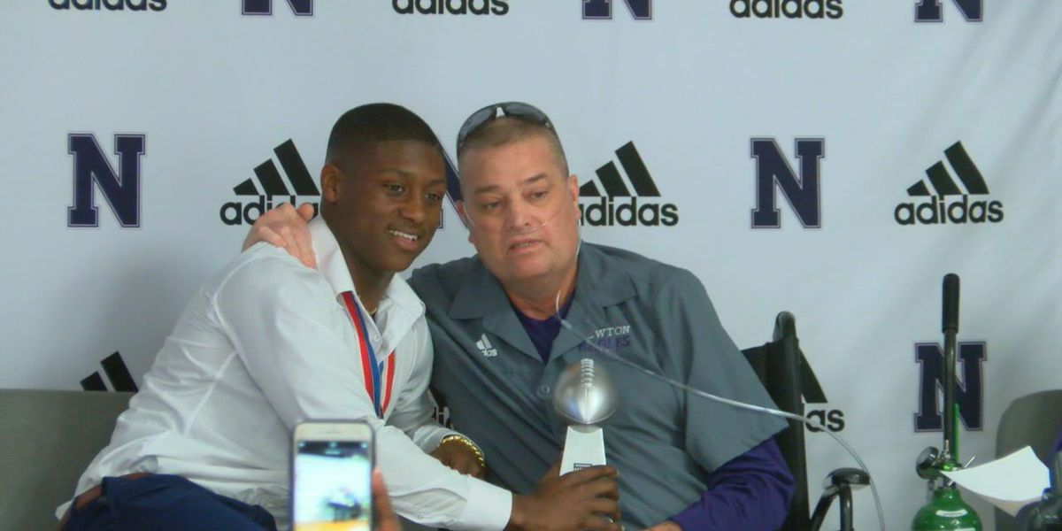 Newton ring ceremony brings on an hour of raw emotion from players, former coach