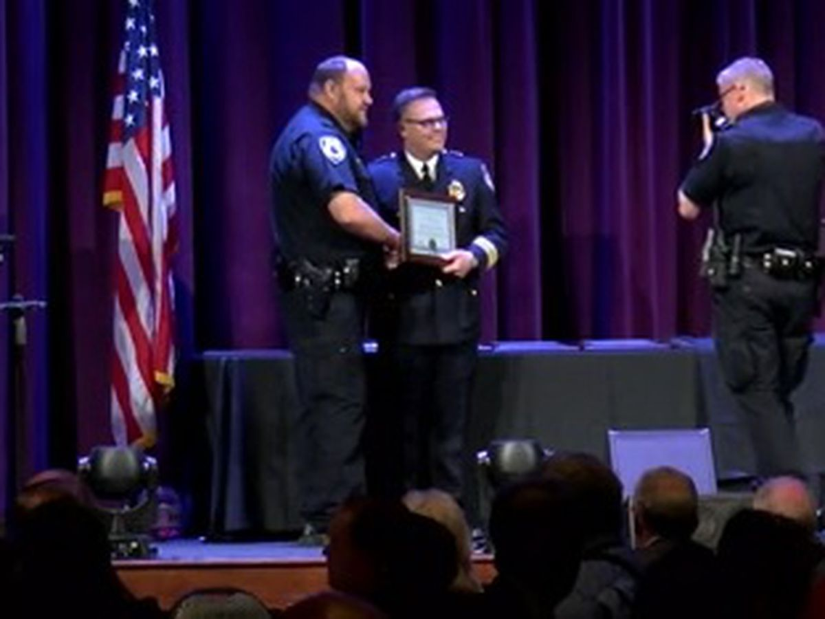 Tyler Police Department recognizes outstanding service among its ranks during ceremony