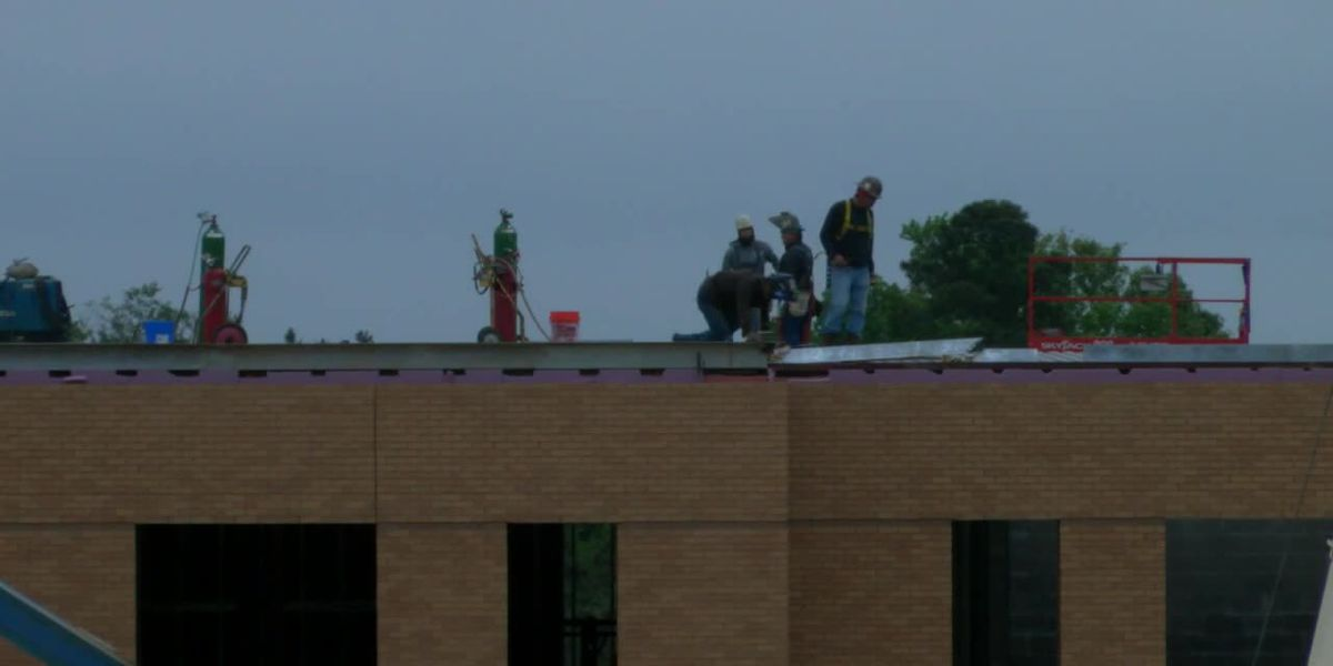 Bad weather, pandemic force completion date of new Emeline Carpenter Elementary School back