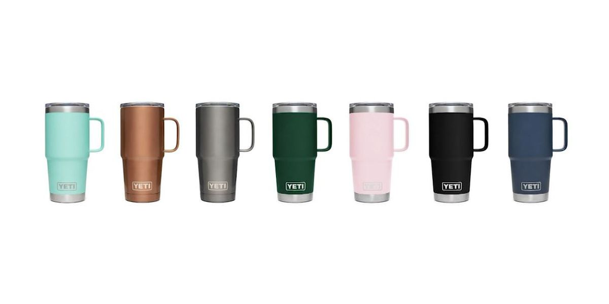 Yeti recalls thousands of travel mugs for burn hazard