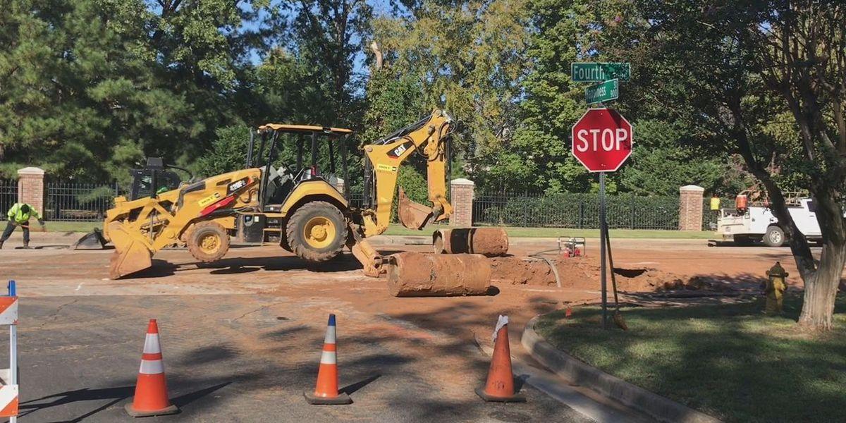 City of Longview repairs water main break that shut down part of Fourth Street