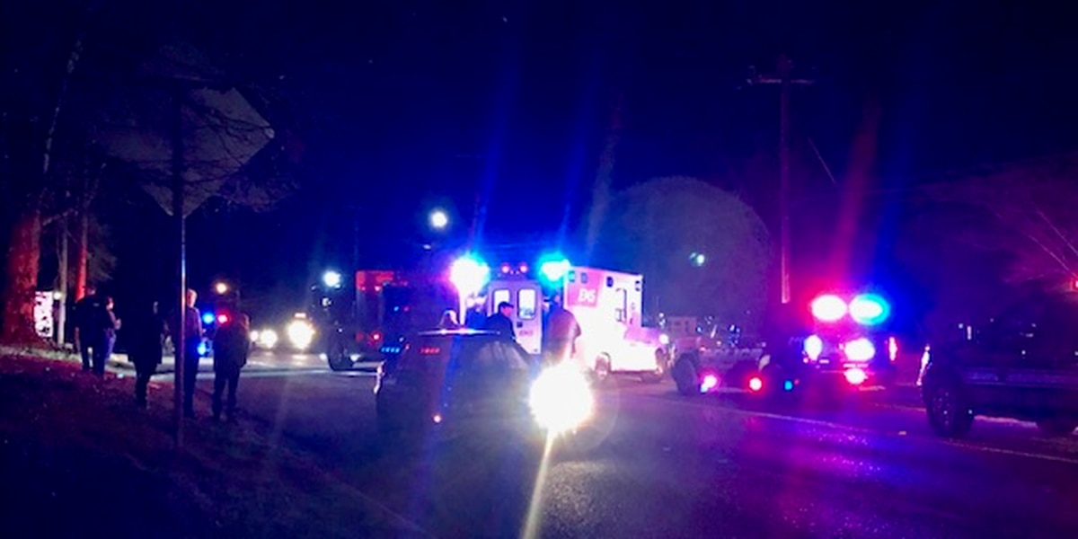 Pedestrian taken to hospital after struck by vehicle in Whitehouse
