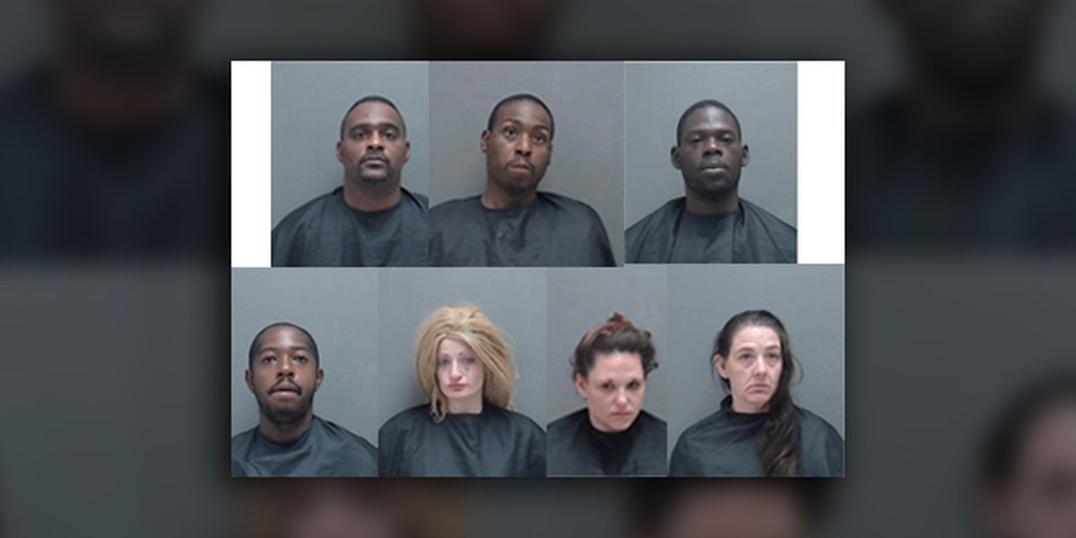7 arrested during execution of narcotics search warrant in Marshall