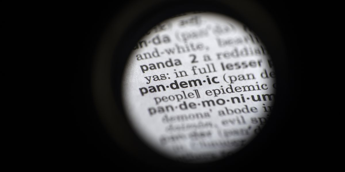 Dictionary.com picks 'pandemic' as its 2020 word of the year