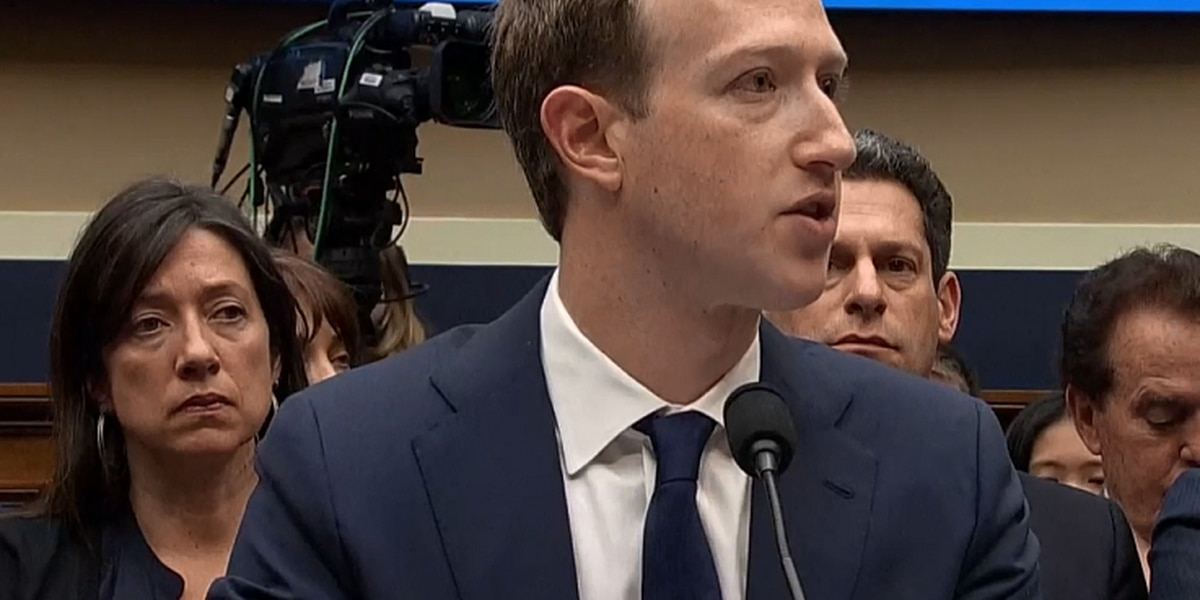 LIVE: Day two of testimony for CEO Mark Zuckerberg