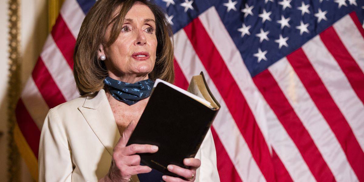 Pelosi urges Trump to be 'healer in chief' as protests rage