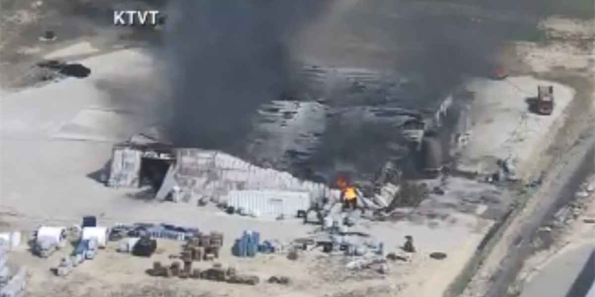 Crews responding to explosion at plant in northeast Texas