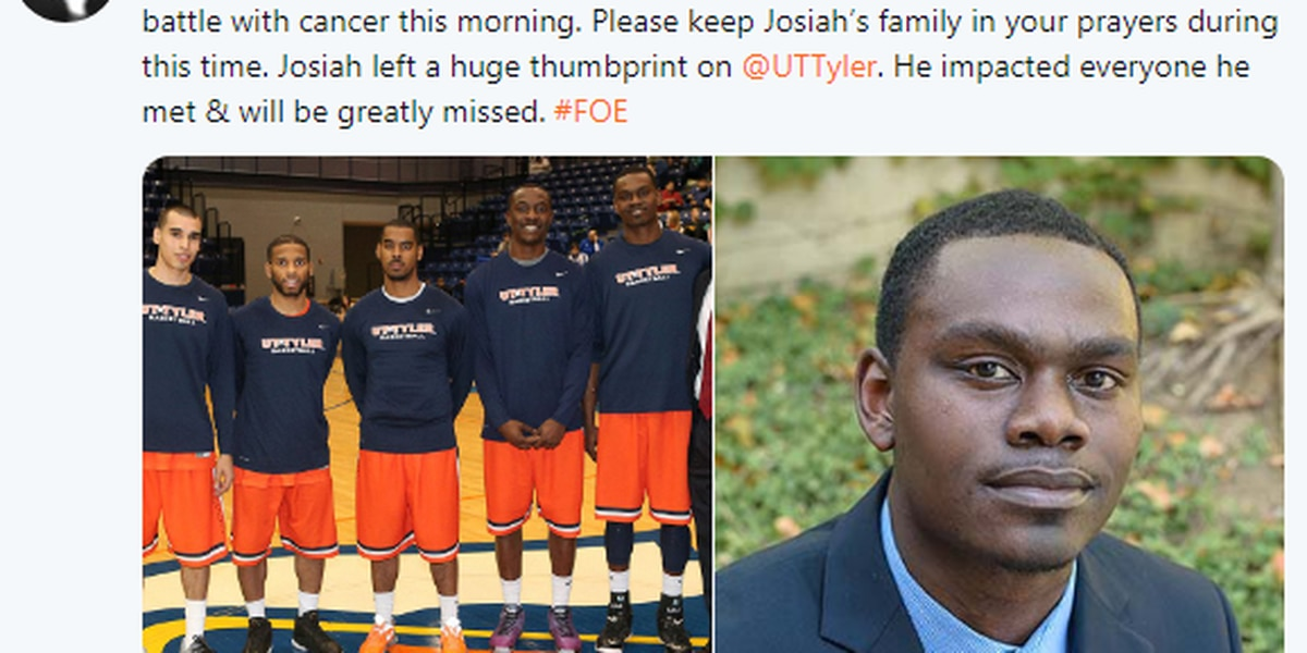 Former UT Tyler basketball player dies from cancer