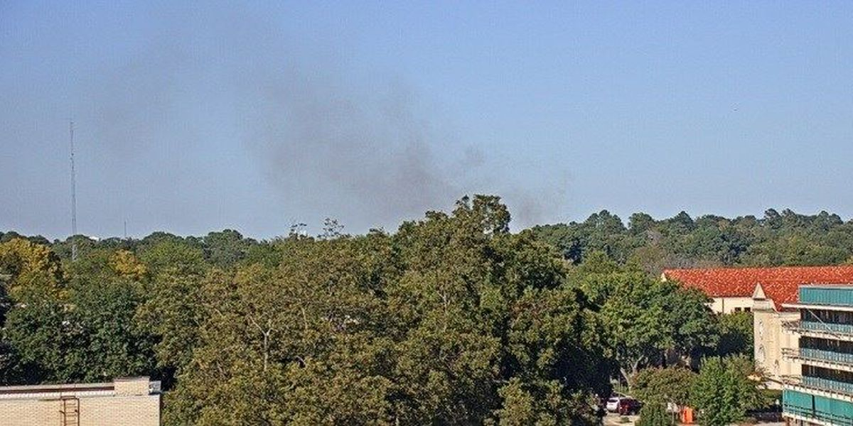 Fire north of Longview contained, scene to be cleared soon