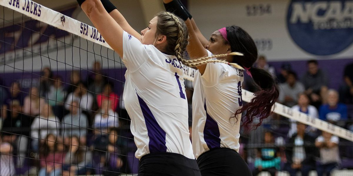 SFA Volleyball puts 20 match win streak on the line Thursday