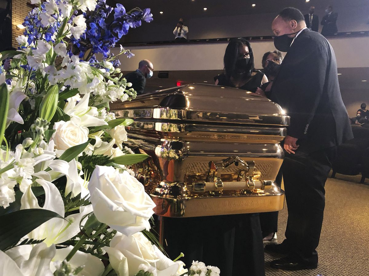 LIVE: Floyd eulogized in Minneapolis memorial, first of 3