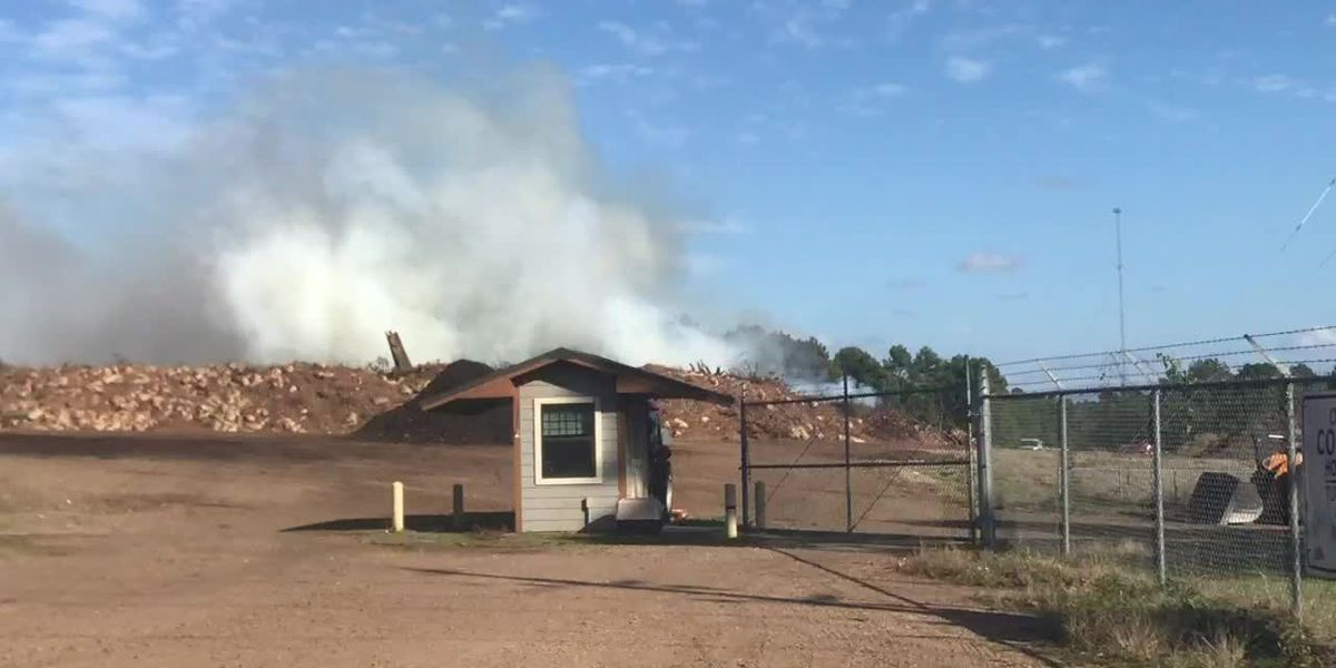 Crews responding to fire at Longview compost site