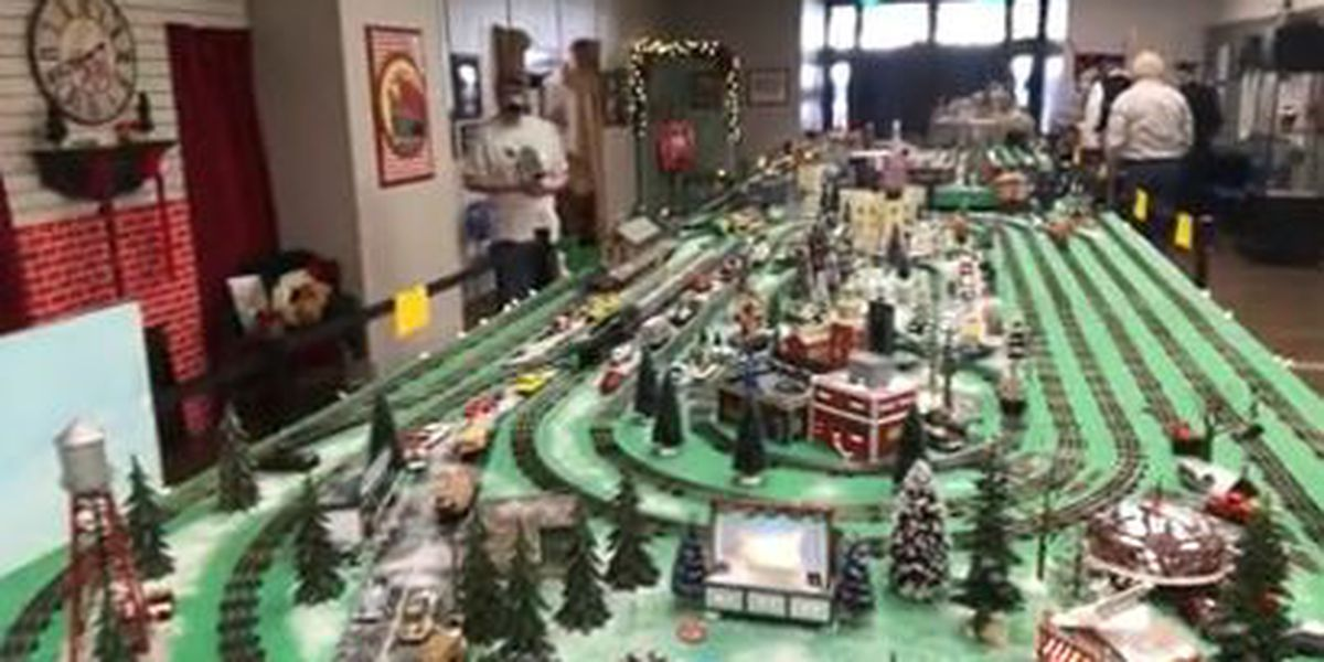Loblolly model train rolls into the Gregg County Historical Museum