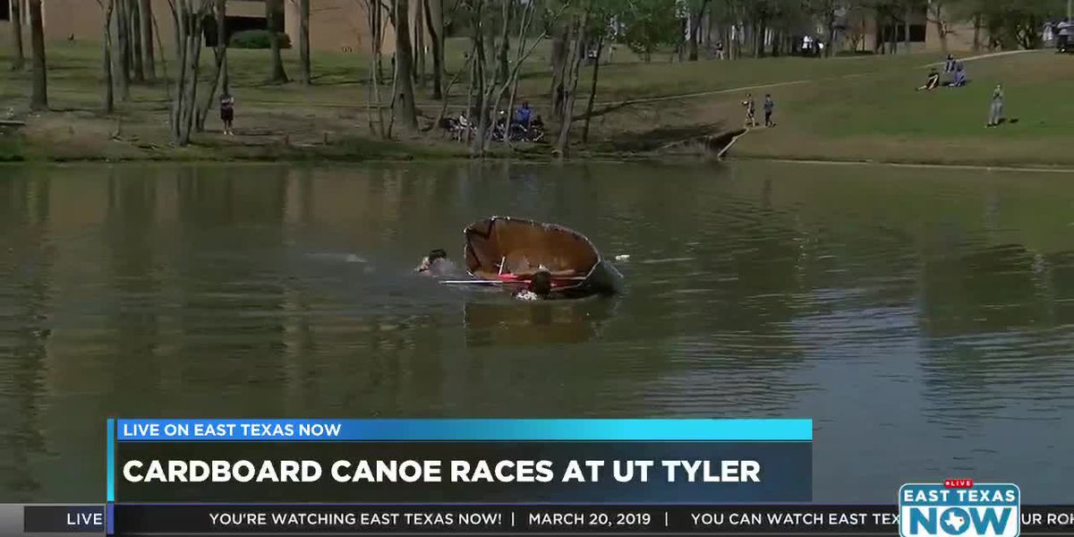 VIDEO: East Texas high school students to race self-built cardboard canoes
