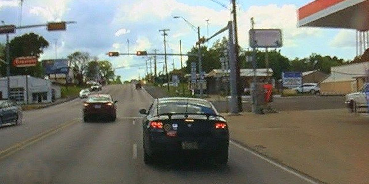 Dashcam video shows high speed chase through East Texas counties
