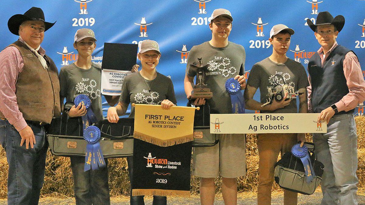 Smith County Ag Robotics teams win big at Houston Rodeo
