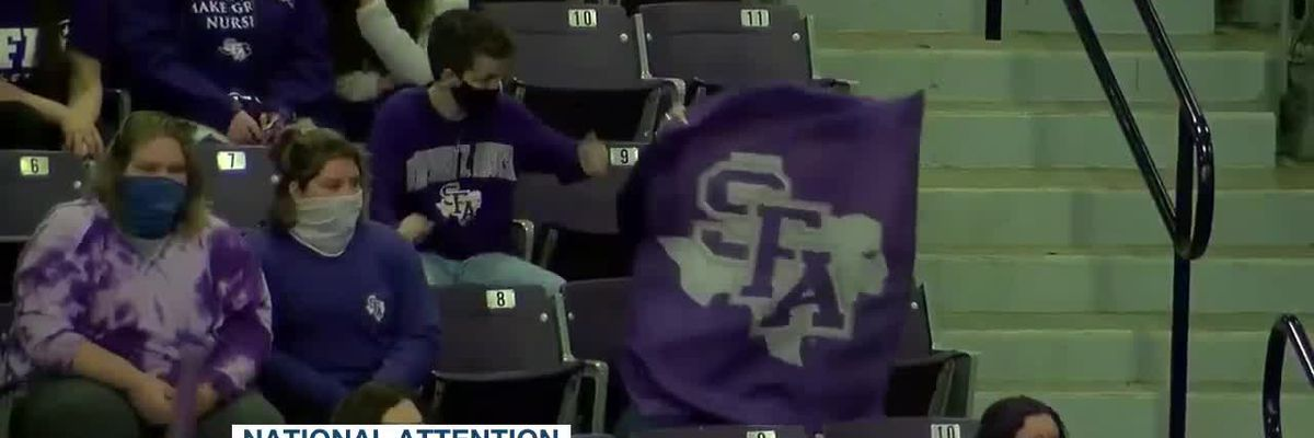 SFA Ladyjacks earn votes on most recent women's basketball Top 25 poll