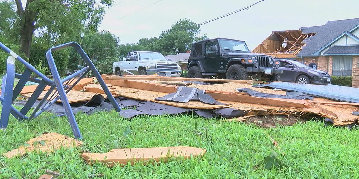 EF-2 tornado hits Kaufman County; residents in recovery mode