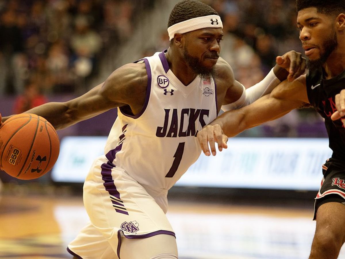 SFA's Kevon Harris picks up first team SLC preseason honors