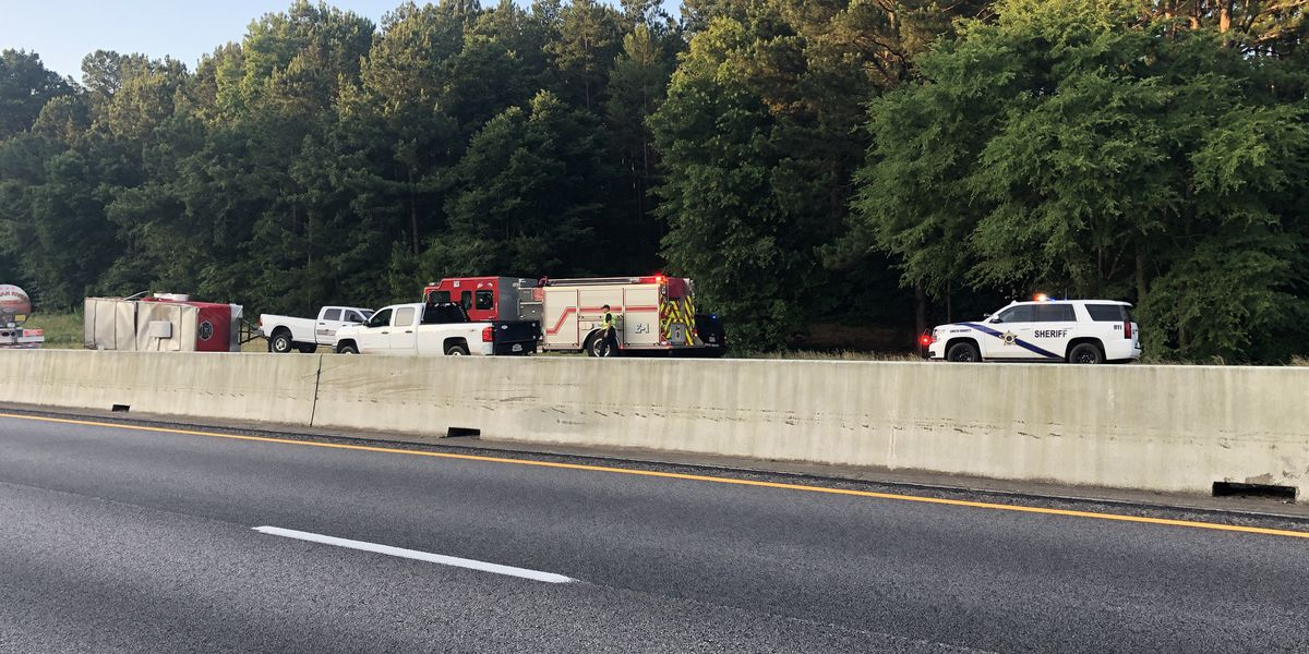 All eastbound lanes reopened following crash on I-20 near Lavender Rd
