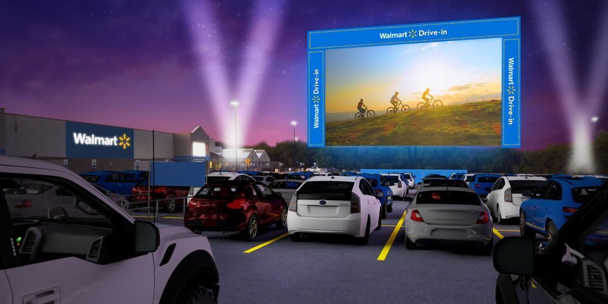 Walmart plans free drive-in movies, 4 in Alabama