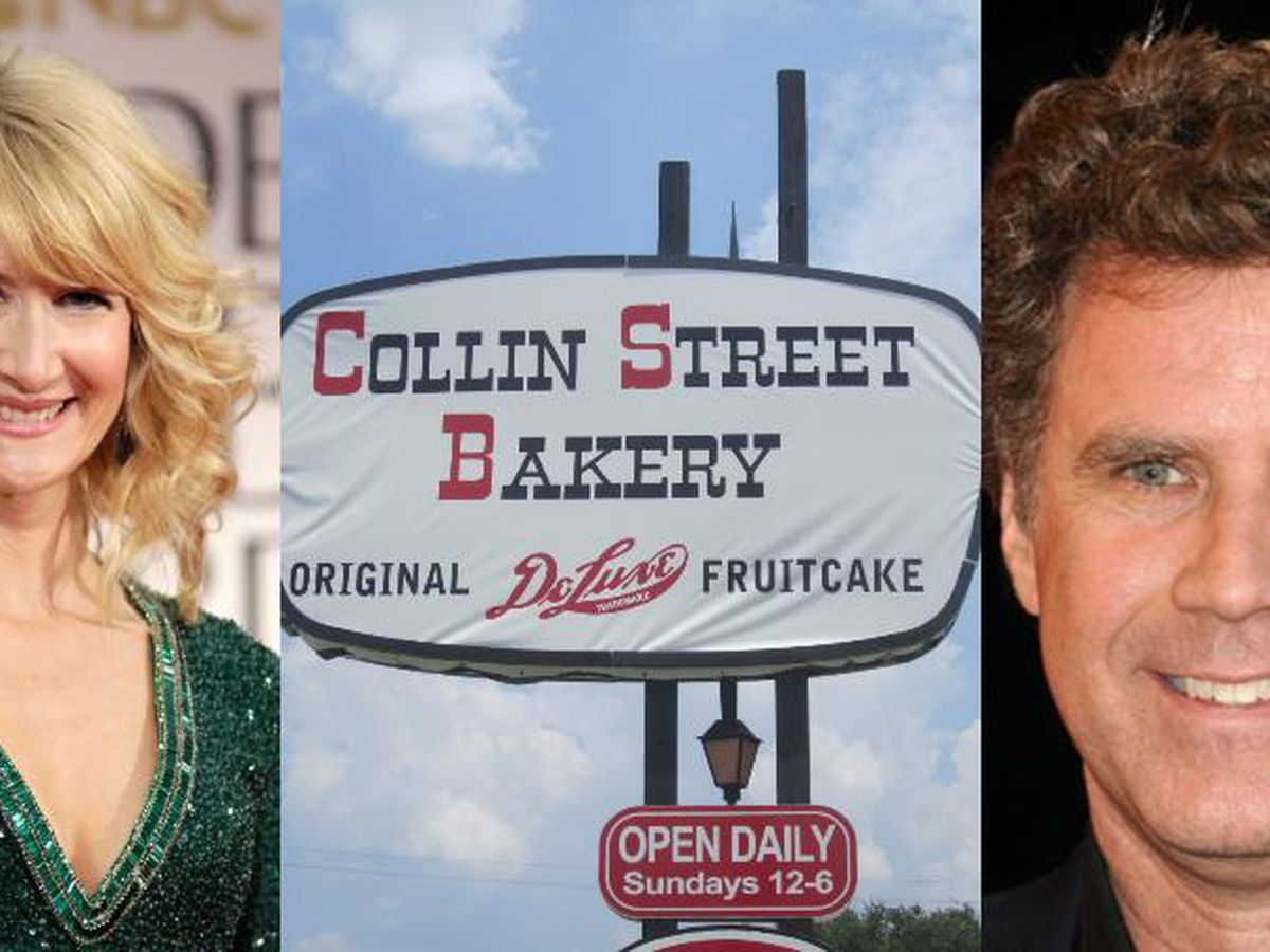 Will Ferrell, Laura Dern to star in 'Fruitcake,' movie based on true crime at Collin Street Bakery