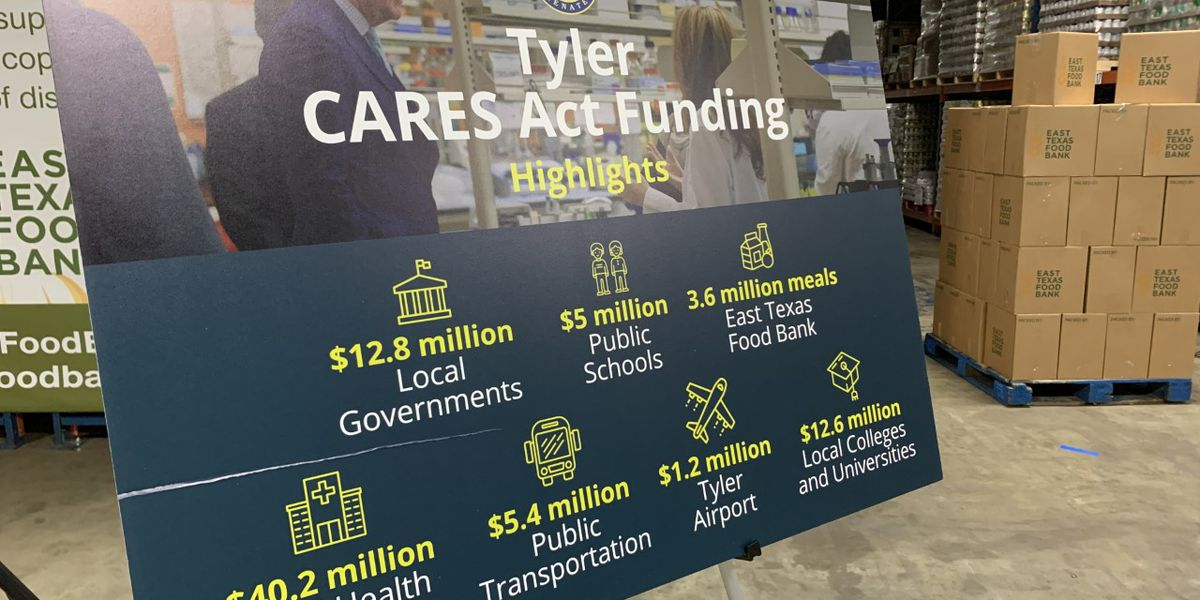 Sen. Cornyn to discuss Tyler's COVID-19 response during visit to East Texas Food Bank