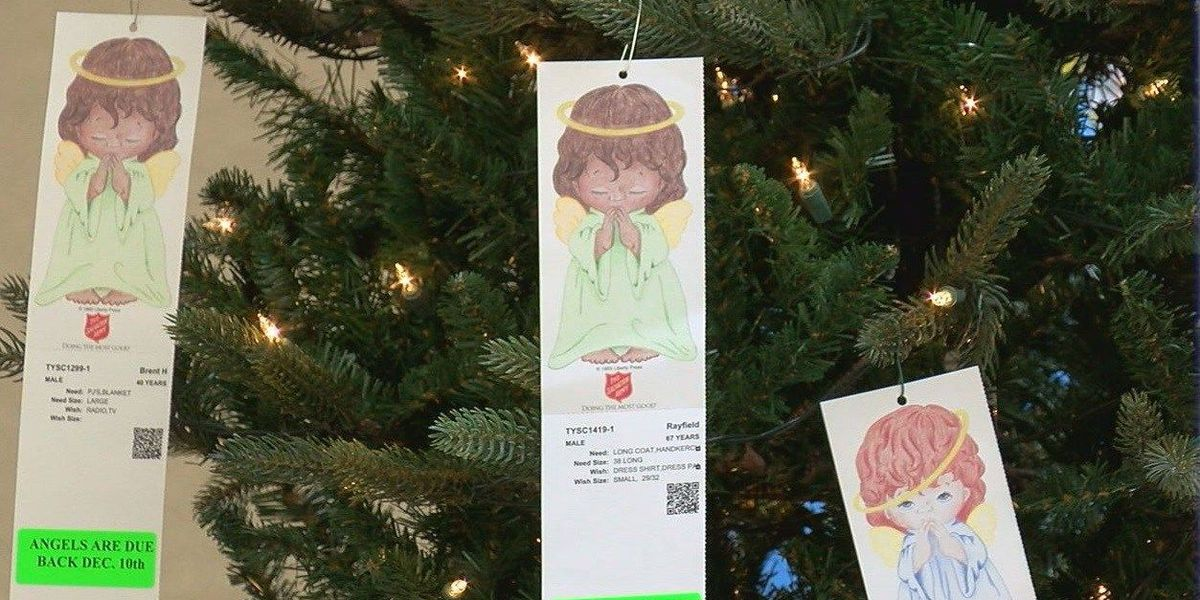 Over 400 angels remain on Salvation Army Tree