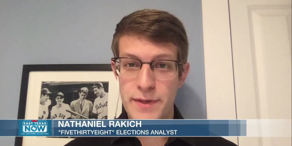 WATCH: FiveThirtyEight analyst shares odds of victory for each party
