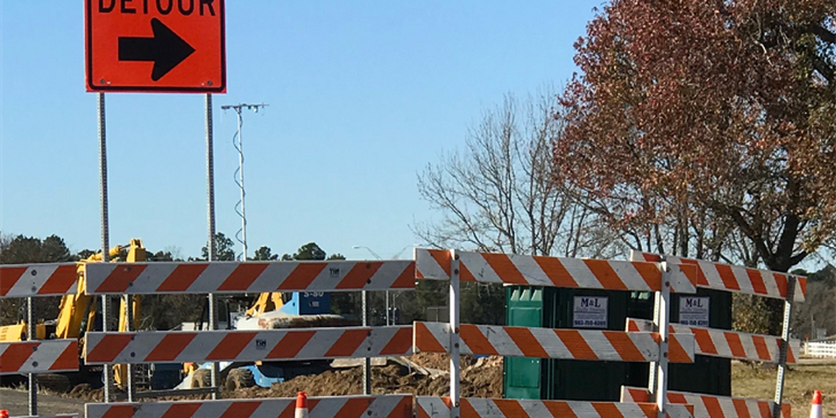 East Texas roadwork projects for the week of Jan. 22