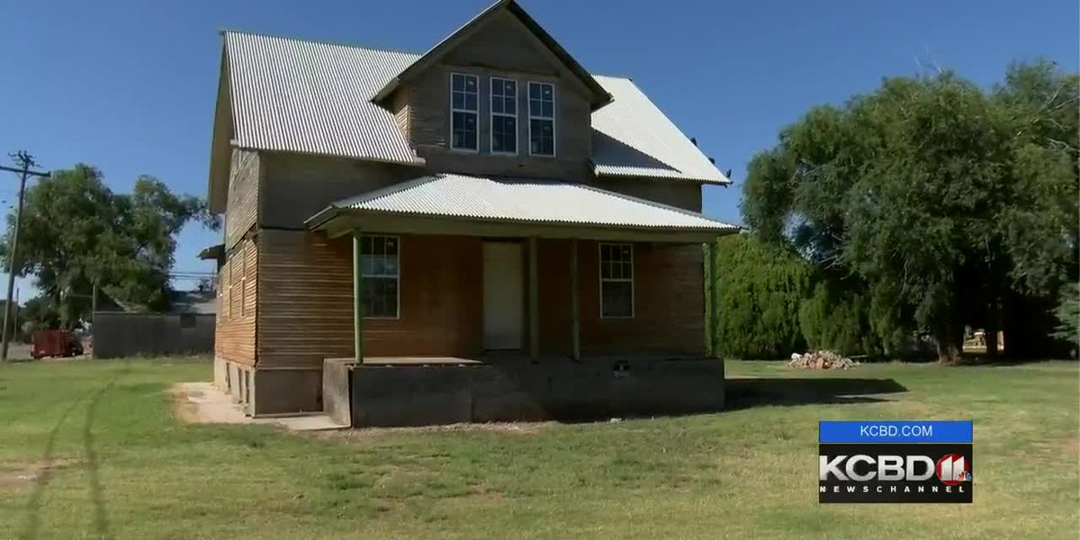 100-year-old home from Sears Catalog being refurbished in Littlefield