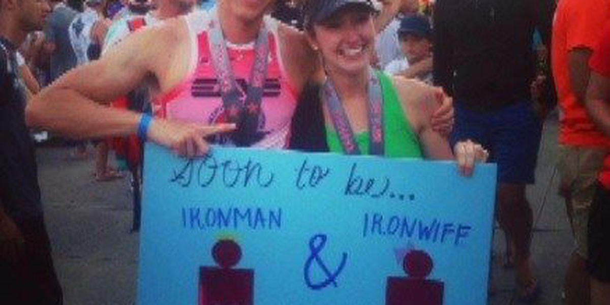 Iron couple set to spend honeymoon competing in France
