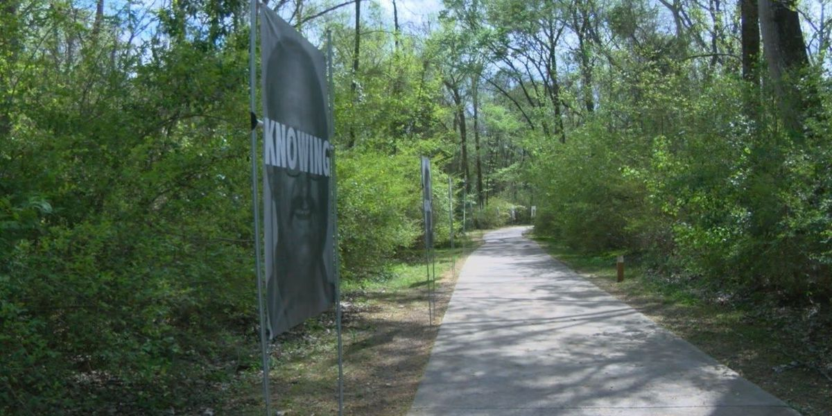 Artwork on display along East Texas trail