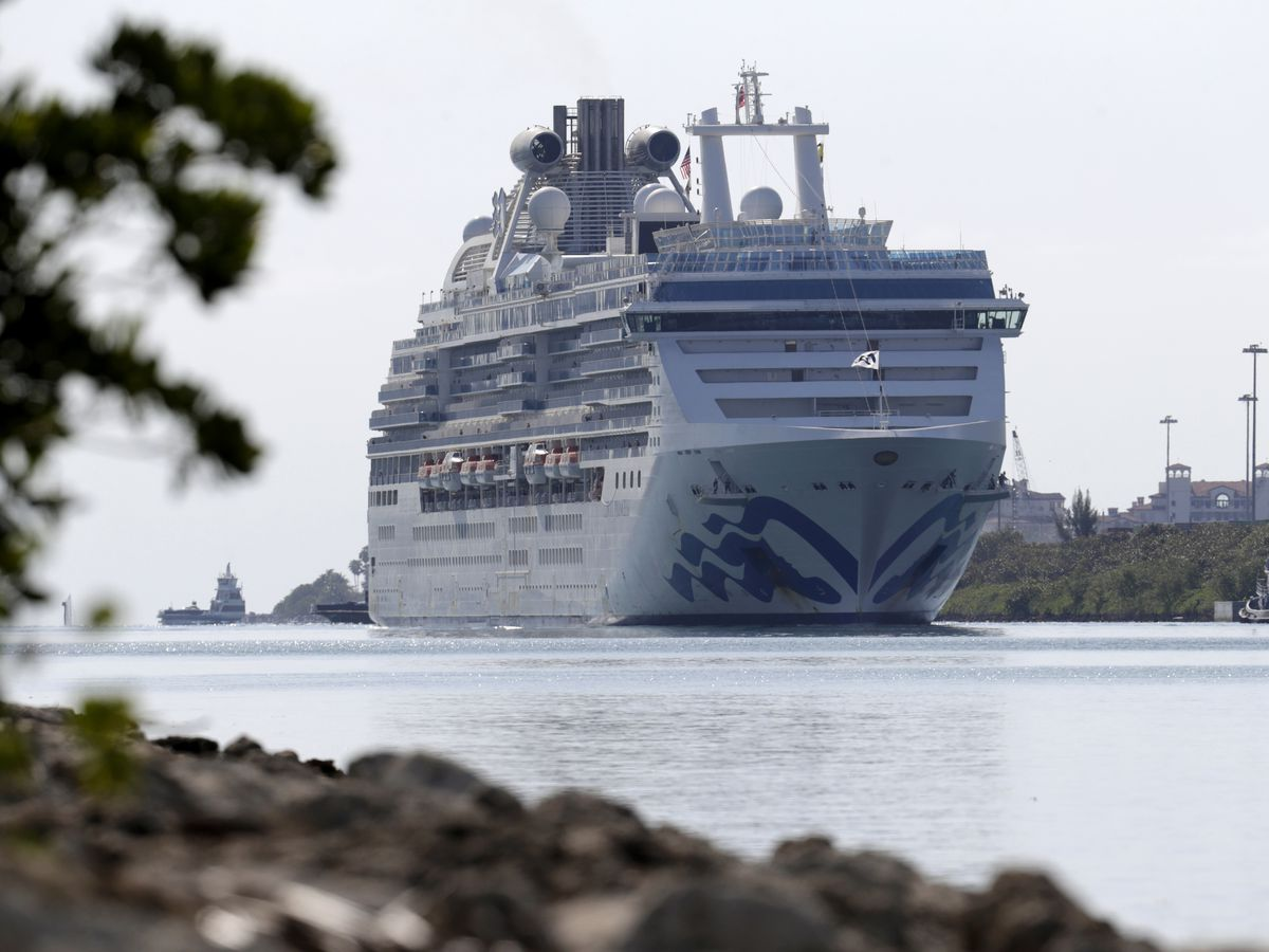 Another cruise ship with virus victims docking in Florida