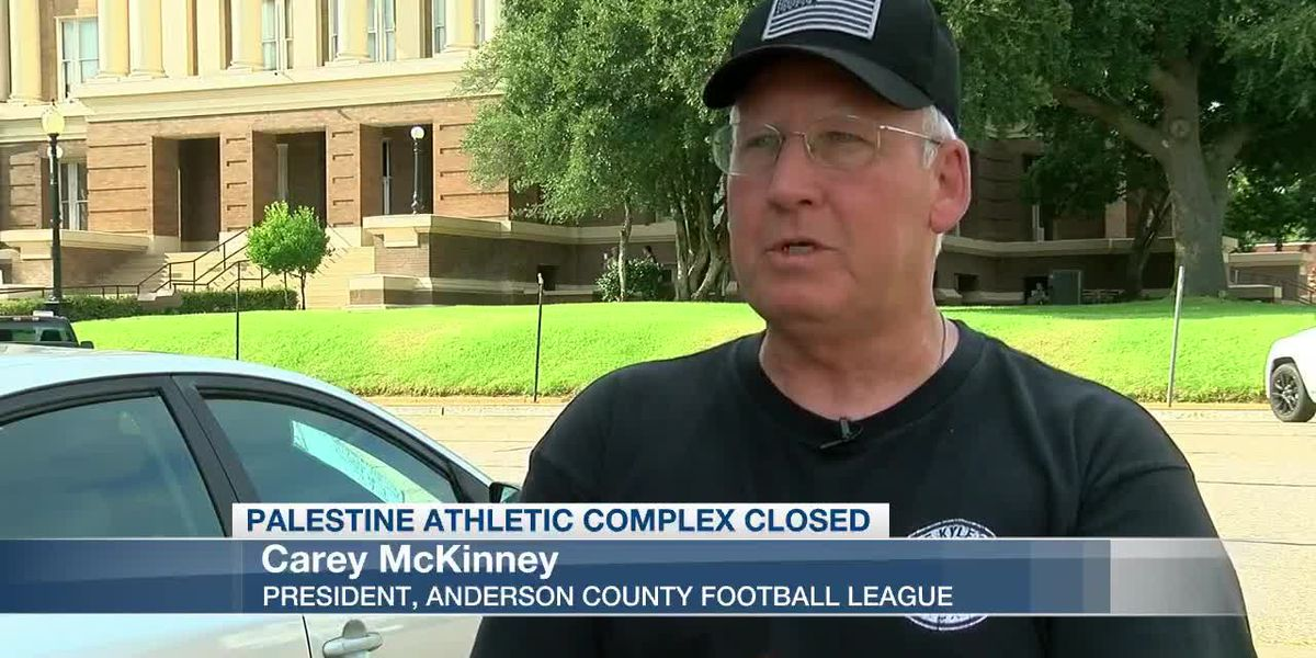 Judge orders Anderson County Football League be allowed to play in the Palestine Athletic Complex