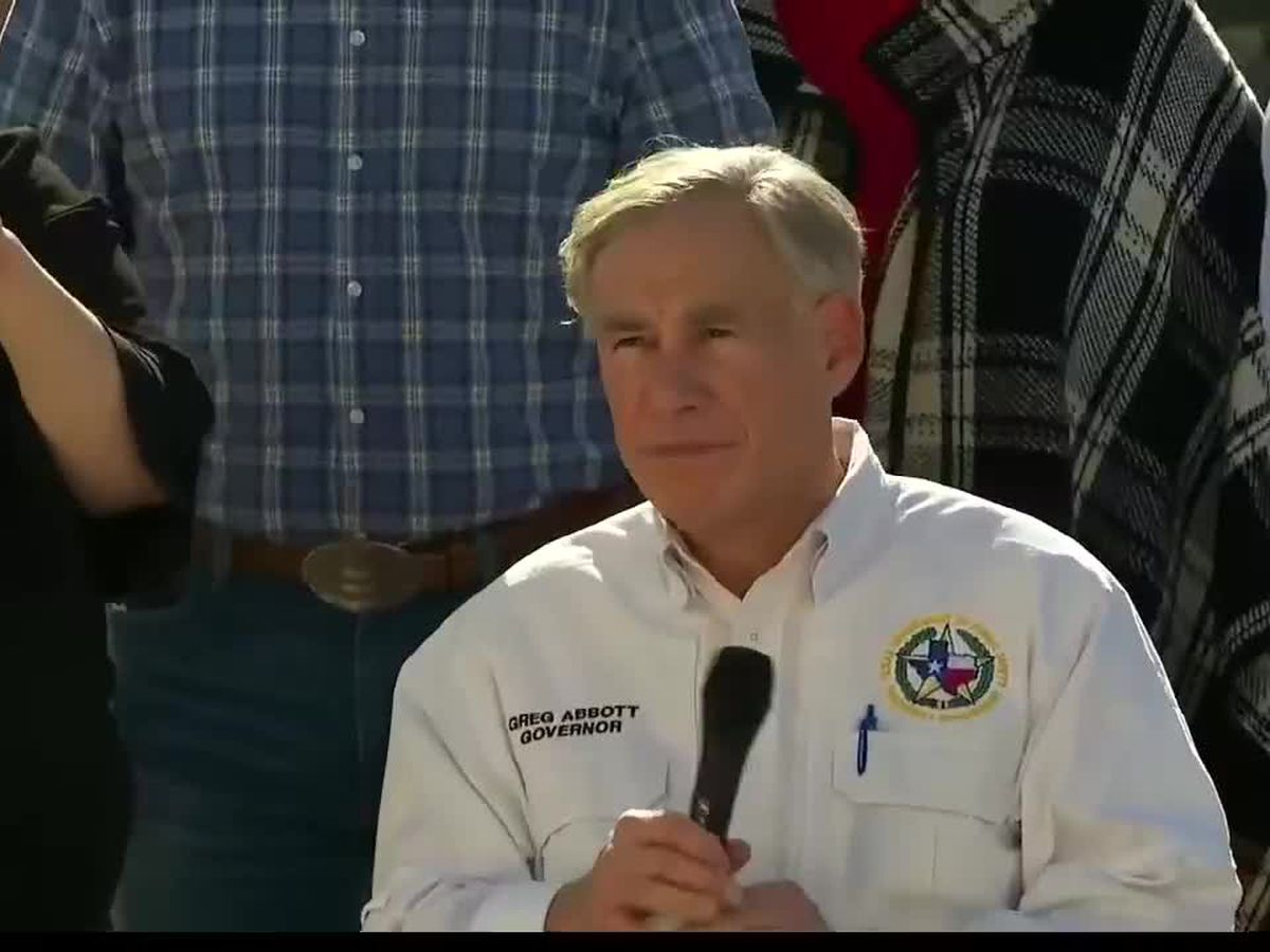Gov. Abbott provides update on vaccine distribution across the state