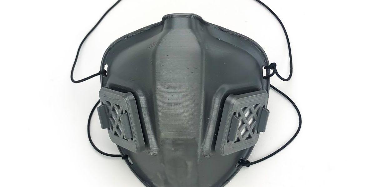 East Texan making N95-equivalent masks using 3-D printer