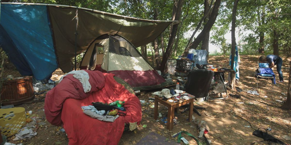 City of Tyler offers resources while clearing homeless camps