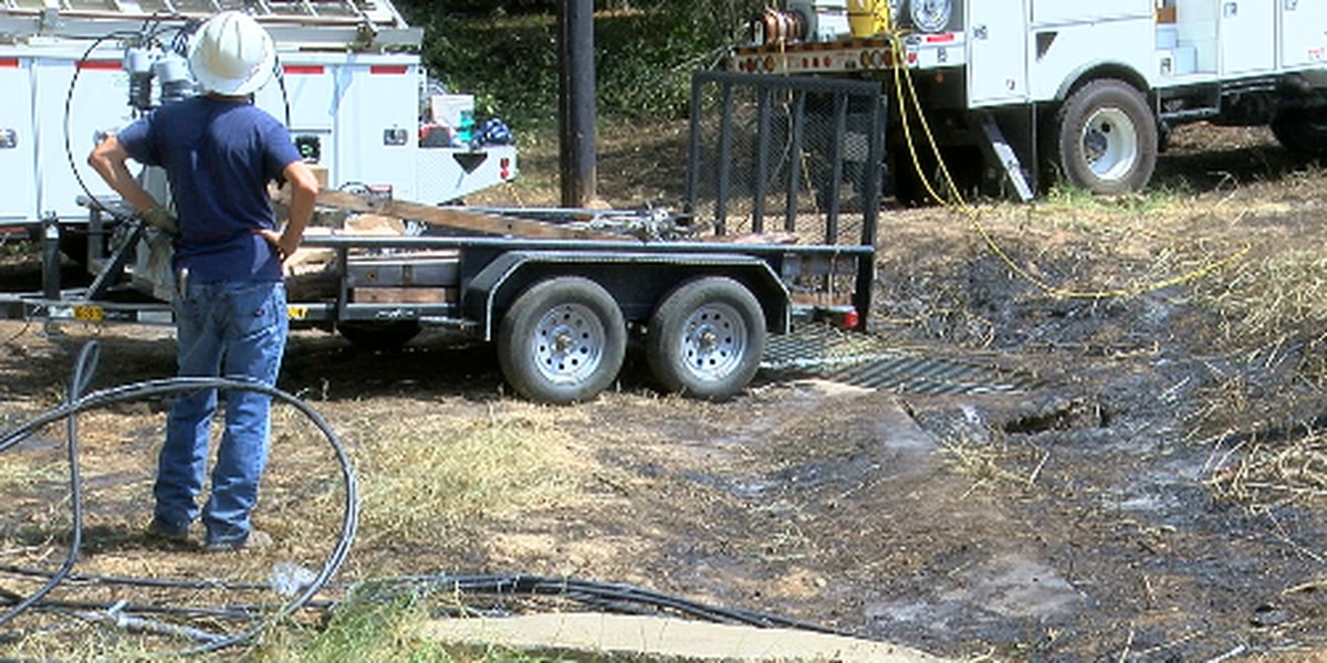 Berryville residents without water after tree takes out power lines