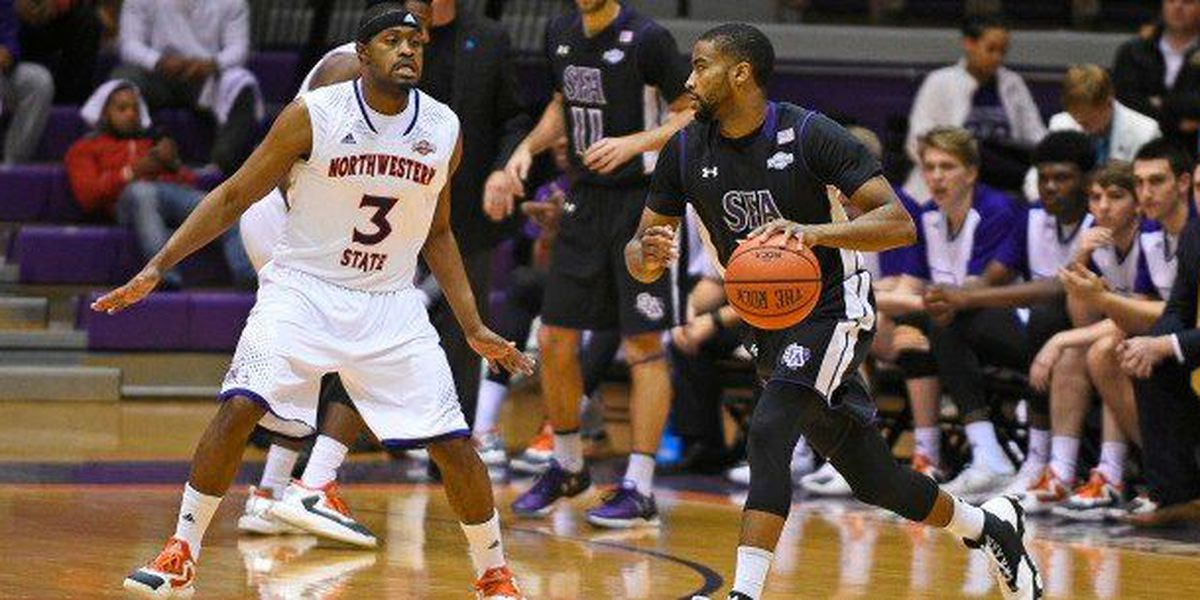 Charles' Layup Late in Overtime Pushes SFA Past Northwestern State, 75-73