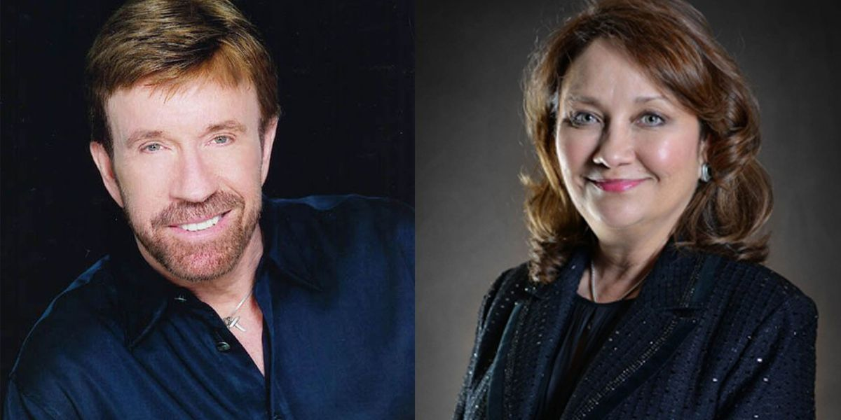 Chuck Norris joins Texas' First Lady for Friday morning story time