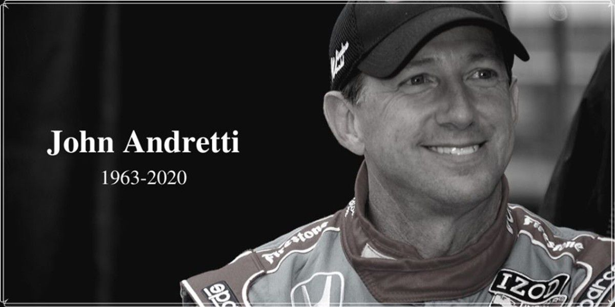 John Andretti, longtime NASCAR, IndyCar driver, dies at 56 after battle with cancer
