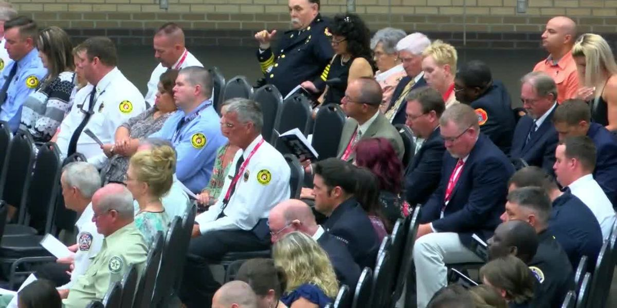 State conference hosts firefighter memorial in East Texas