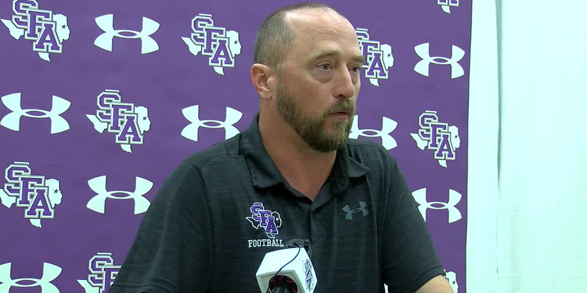 SFA's Colby Carthel excited after home win Saturday