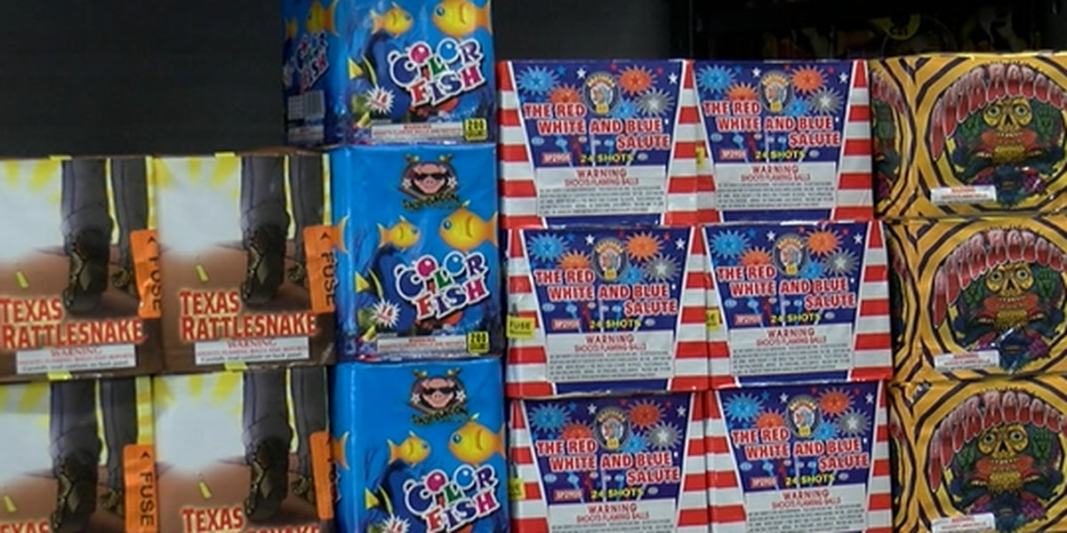 Firework stands across East Texas experience shipping shortage due to COVID-19 pandemic