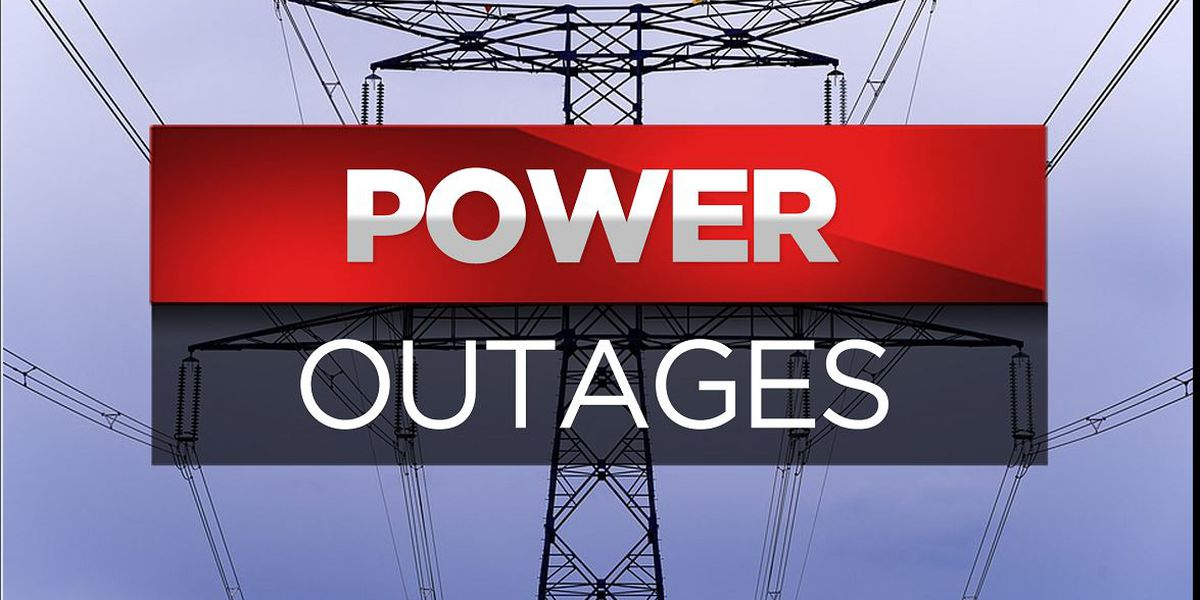 Power Outages Reported Throughout East Texas