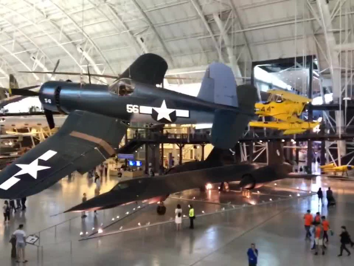Heroes Flight: Veterans visit the Steven F. Udvar-Hazy Center