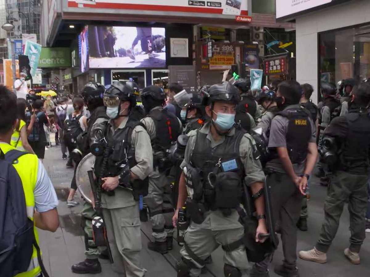 Hong Kong police make first arrests under new national security law