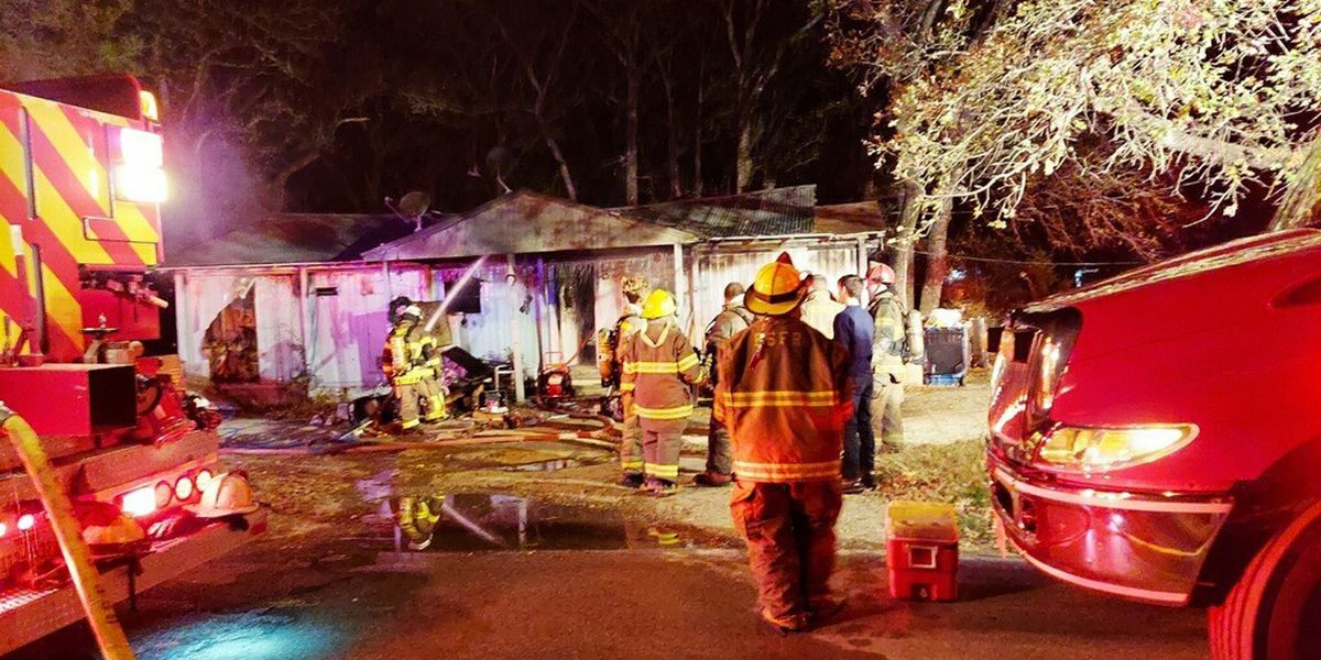 No injuries reported after fire at Gun Barrel City home